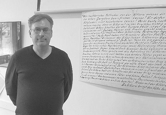 Kurator Christian Winterstein (Foto Cordes/Cuxhavener Nachrichten 2019)